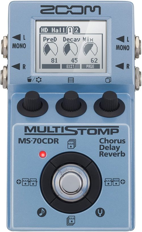 Zoom MS-70CDR MultiStomp Guitar Effects Pedal