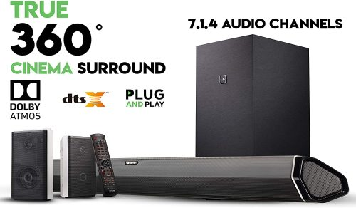 Nakamichi Shockwafe Pro 7.1.4 Channel 600W Dolby Atmos Soundbar