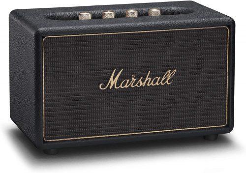 Marshall Acton Multi-Room Wireless Bluetooth Speaker, Black