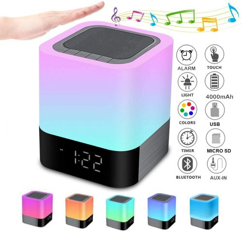 WamGra Bluetooth Speaker Night Light