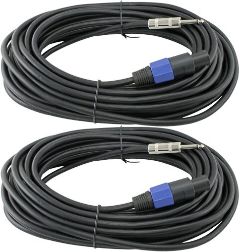 MCSProAudio 12 Gauge Female to NL4FC Male Connectors