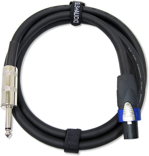 "GLS Audio 1/4"" to NL4FC Speakon Professional Cables"