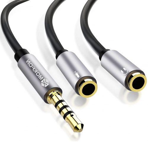 Mokfon Headphone Y Splitter