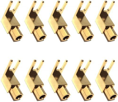 CESS Right Angle Adapter - Banana to Spade adapters