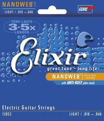 Elixir Strings NANOWEB - Electric Guitar Strings
