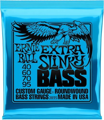 Ernie Ball Extra Slinky - Bass Guitar Strings