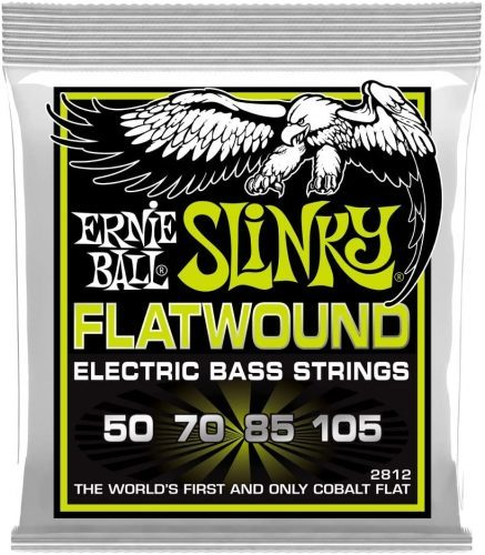 Ernie ball Flatwound Slinky - Bass Guitar Strings