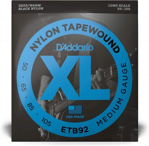 D'Addario Tapewound Bass Guitar Strings - Bass Guitar Strings