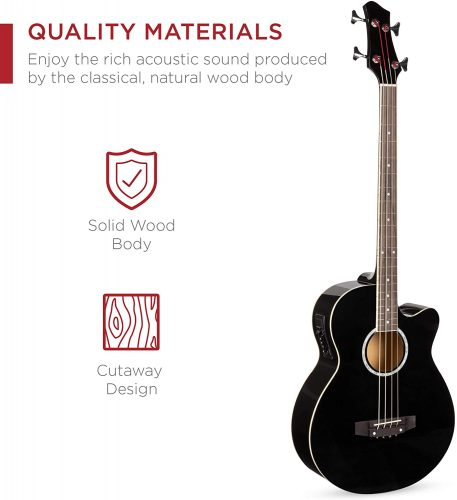Best Choice Products - Acoustic Electric Bass Guitars