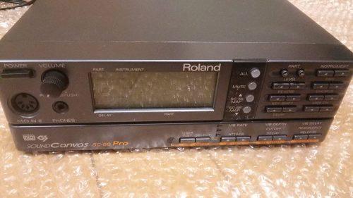 Roland Sc-88 Sound Module - sound modules