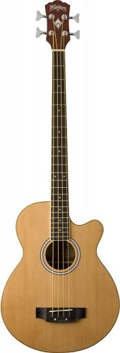 Washburn Acoustic-Electric Bass - Acoustic Electric Bass Guitars