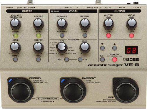 BOSS Acoustic Processor (VE-8)- Vocal Harmonizers