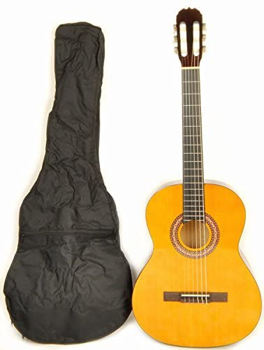 """Omega 38"""" Classical Acoustic Guitar - Left-Handed Classical Guitars"""