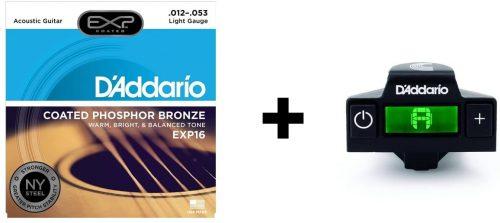 D'Addario NS Micro Soundhole Guitar Tuner - Guitar Clip Tuners