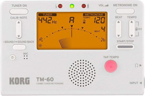 Korg TM60WH - Metronome Tuners