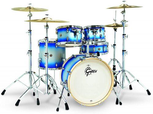 Gretsch Blue Silver Duco - Acoustic Drum Sets