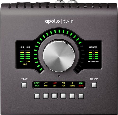 Universal Audio Twin MKII - Thunderbolt Audio Interfaces