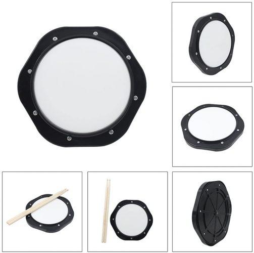 Ammoon 10 Inch Drum Practice Pad - Practice Pads