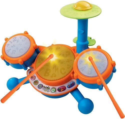 V Tech KidiBeats Kids Drum Set - Toddler's Drum Sets