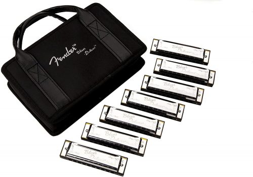 Blues Deluxe – Pack of 7 - Harmonicas