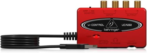Behringer U-Control UCA222 - Thunderbolt Audio Interfaces