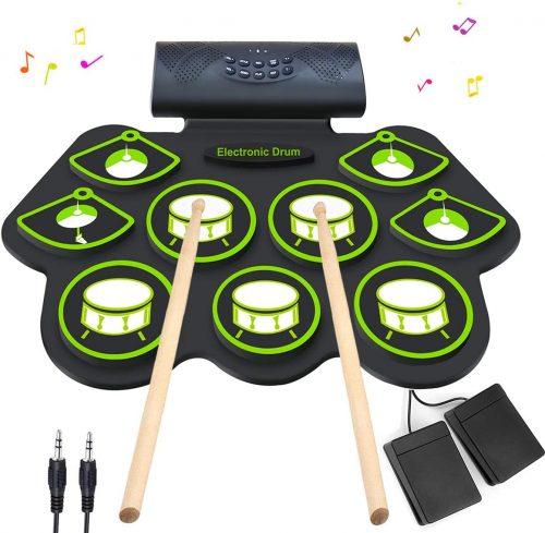 Electronic Drum Set BY KONIX - Mini Drum Sets