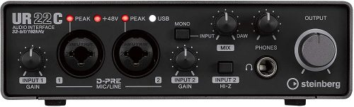 Steinberg UR22C - Thunderbolt Audio Interfaces