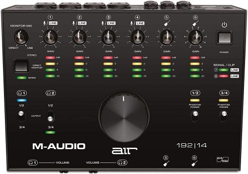 M-Audio Interface - Thunderbolt Audio Interfaces