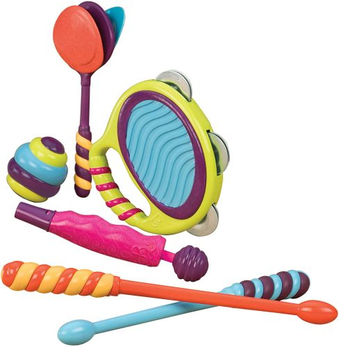 B. Toys 7 Musical Instruments - Toddler's Drum Sets
