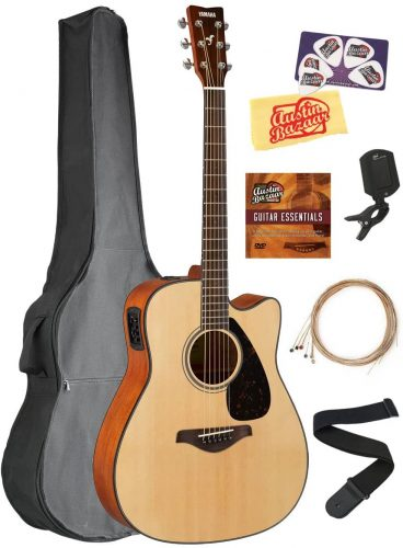 Yamaha FGX800C - Intermediate classical guitars