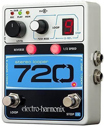 Electro-Harmonix 720 Stereo Looper Pedal - best loopers