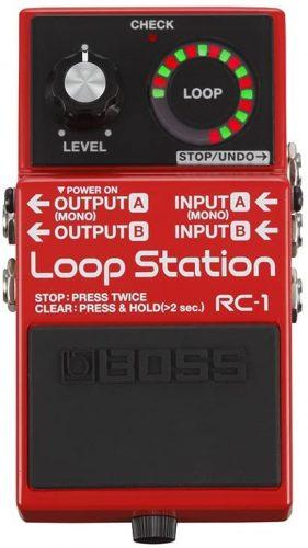 BOSS RC-1 Loop Station- best loopers
