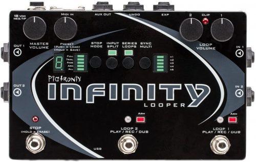 Pigtronix SPL Infinity Looper Pedal- best loopers