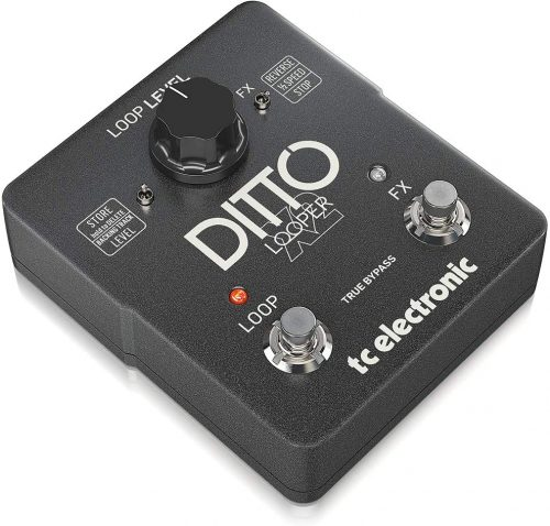 TC Electronic Ditto X2 Looper Pedal - best loopers