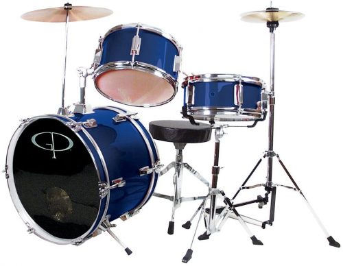 GP50BL Complete Drum Set for Kids