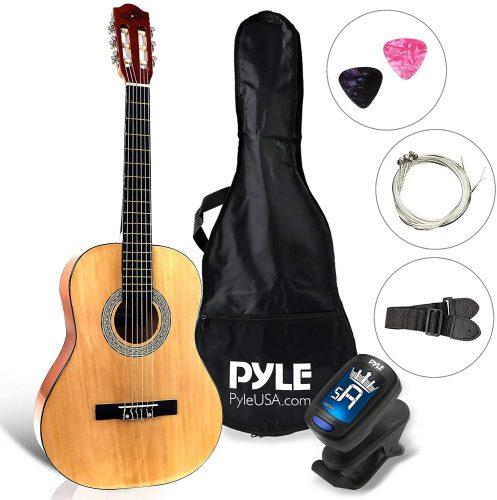 Pyle Beginner - Classical Guitar Beginner Kits