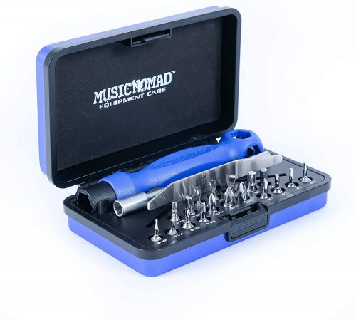 MusicNomad MMN229 Guitar Tech Screwdrivers and Wrench Set - Guitar Repairing And Maintenance