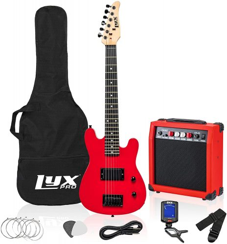 LyxPro Electric Bass Guitar Starter - Bass Guitar beginner Kits