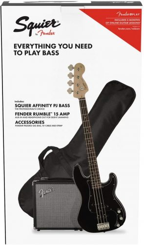 Squire by Fender Affinity Series Bass - Bass Guitar beginner Kits