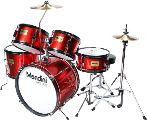 Mendini by Cecilio MJDS-5-BR - Toddler's Drum Sets
