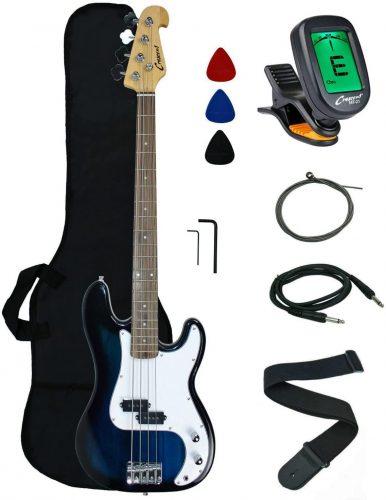 Crescent Electric Bass Guitar - Bass Guitar beginner Kits