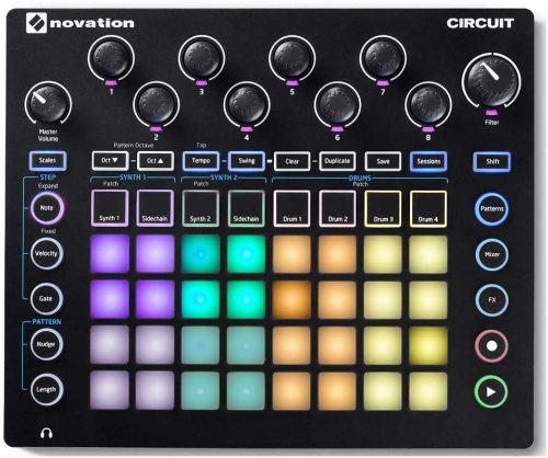Novation Circuit - Electronic Drum Pads