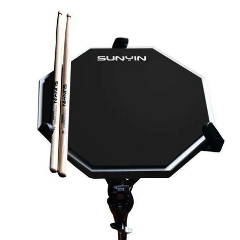 SUNYIN Practice Drum Set - Practice Pads