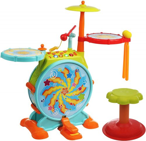 IQ Toys My First Baby Drum Set - Toddler's Drum Sets
