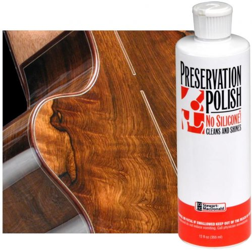StewMac Preservation Polish - Guitar Polish and Cleaner