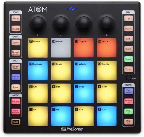 PreSonus ATOM Production - midi pad controllers