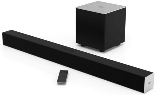 VIZIO 2.1 Sound Bar SB3821-C6 with Wireless Subwoofer Bluetooth 100dB SPL, Black, 38""