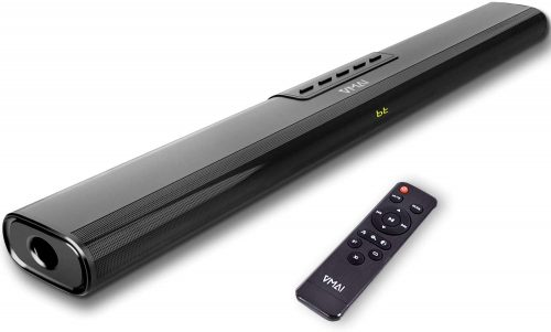 Sound Bar, Sound Bar for TV, Soundbar with Built-in Subwoofer