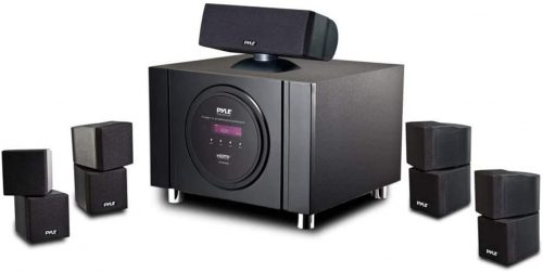 5.1 Channel Home Theater Speaker System
