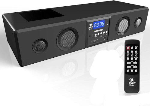 Pyle 3D Surround Bluetooth Soundbar
